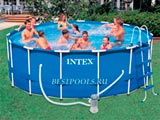 Каркасный бассейн Intex Metal Frame Pool 28236, 457 х 122 см