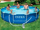 Каркасный бассейн Intex Metal Frame Pool 28212, 366 х 76 см