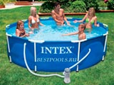 Каркасный бассейн Intex Metal Frame Pool 28202, 305 х 76 см